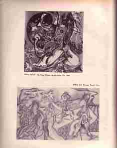 Illustrations of Pollock and William Fett in DYN 6 1944