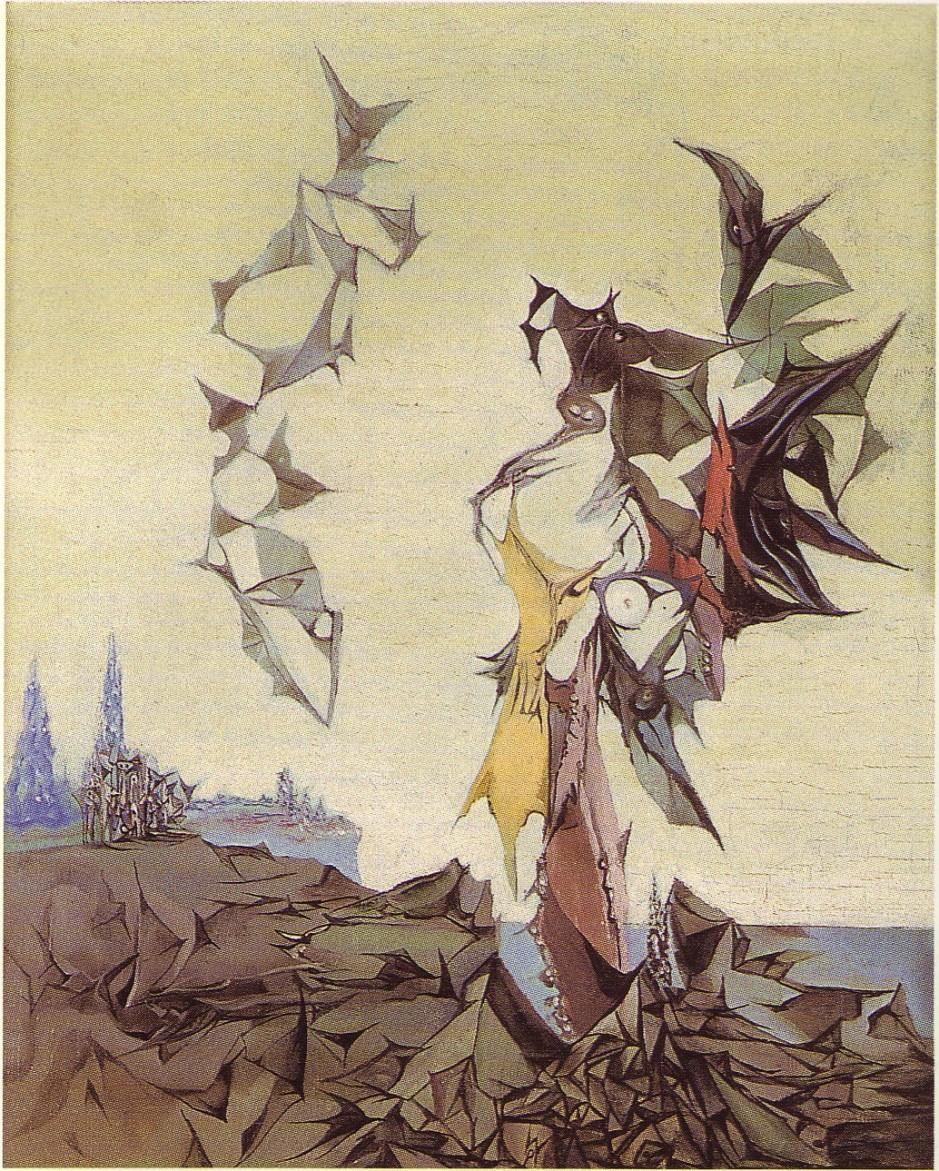 Wolfgang Paalen, Paysage totémique (2), 1937